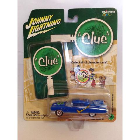 Johnny Lightning - 1959 Cadillac Azul -  Clue