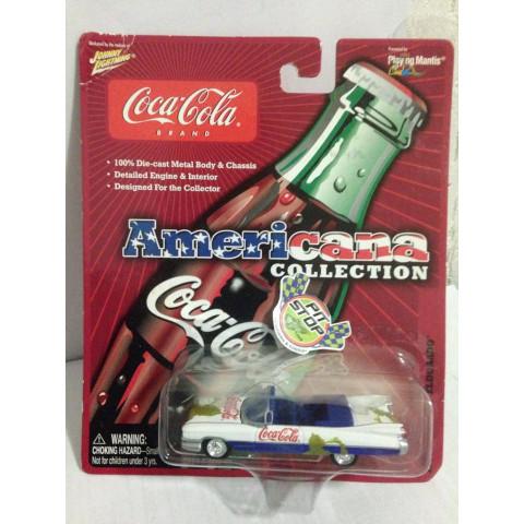 Johnny Lightning - 1959 Cadillac Eldorado - Americana Collection - Coca Cola