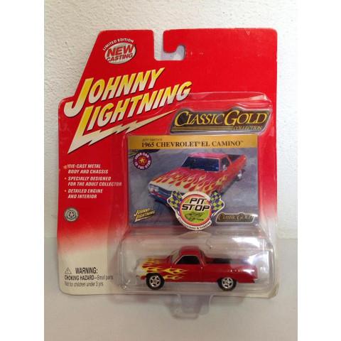 Johnny Lightning - 1965 Chevrolet El Camino Vermelho - Classic Gold