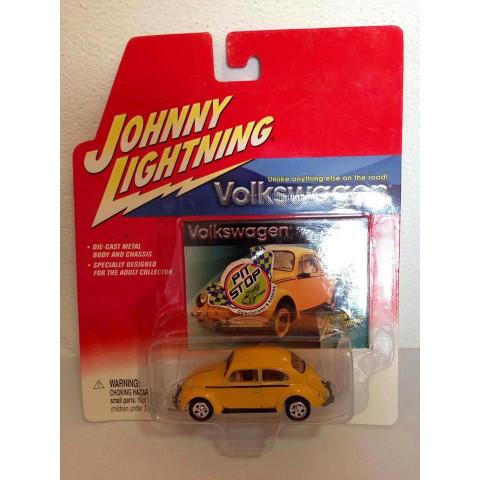 Johnny Lightning - 1966 Beetle Amarelo - Volkswagen