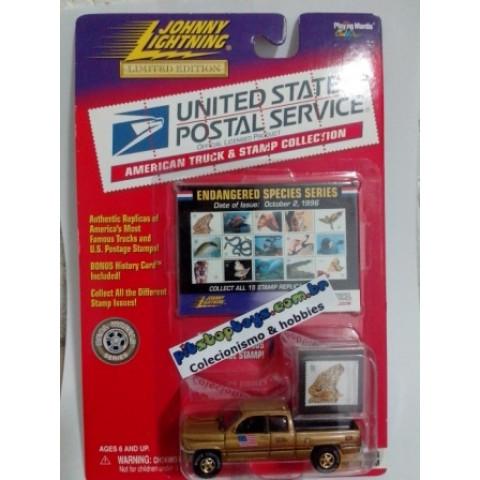 Johnny Lightning - 1966 Dodge Ram - USPS - Série Gold