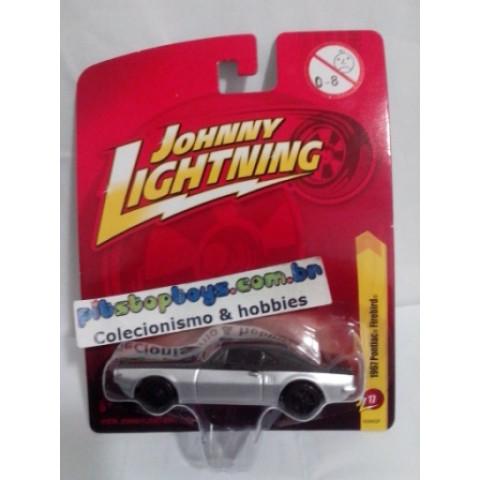 Johnny Lightning - 1967 Pontiac Firebird Prata - JL Forever