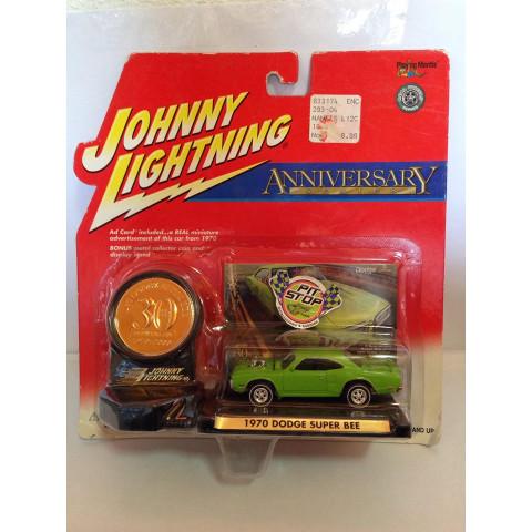 Johnny Lightning - 1970 Dodge Super Bee Verde - Anniversary Series