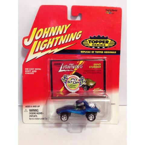 Johnny Lightning - Sand Stormer Azul - Topper Series