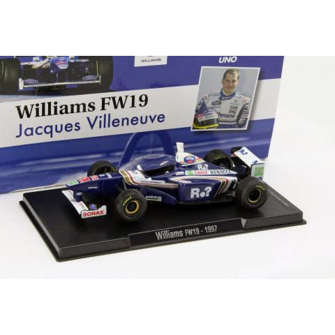 Leyendas de la Fórmula Uno - Williams FW19 1997 - Jacques Villeneuve - Escala 1:43