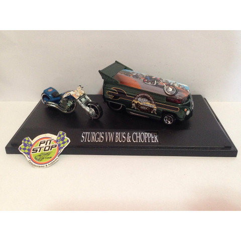 Liberty Promotions - Scorchin Scooter & VW Drag Bus - Sturgis Rebel - Limitada em 200 Peças