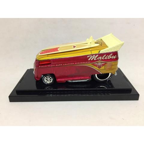 Liberty Promotions - Surfin Series #12 Malibu VW Drag Bus Vermelho - Limitado em 1,000