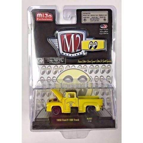 M2 Machines - 1956 Ford F-100 Truck - MiJo Exclusivo - Limitado 2400 pcs