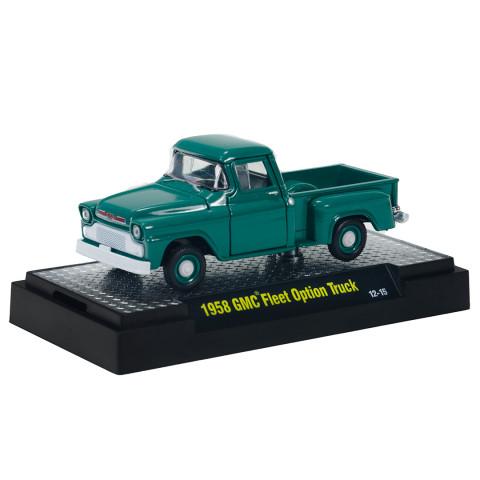 M2 Machines - 1958 GMC Fleet Option Truck Verde - Auto-Trucks