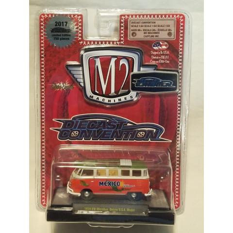 M2 Machines - 1959 VW Microbus Deluxe USA Model - Diecast Convention México 2017