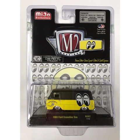 M2 Machines - 1965 Ford Econoline Van - MiJo Exclusivo - Limitado 2400 pcs