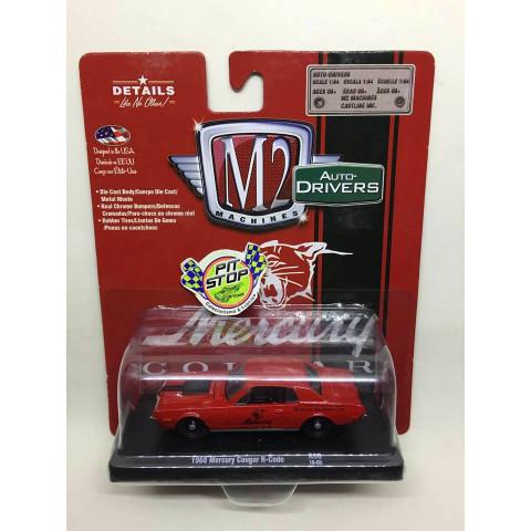 M2 Machines - 1968 Mercury Cougar R-Code Vermelho - Auto-Drivers