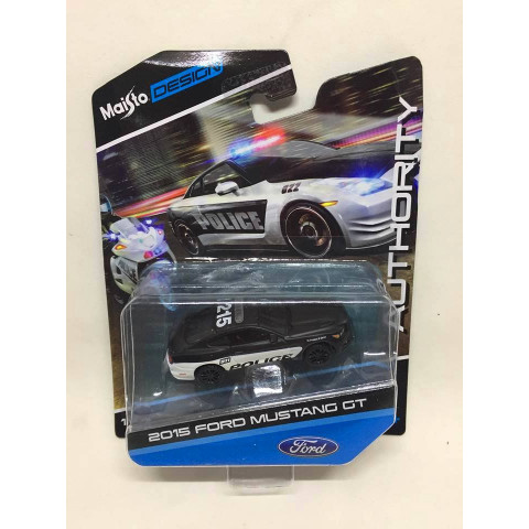 Maisto - 2015 Ford Mustang GT Preto - Authority