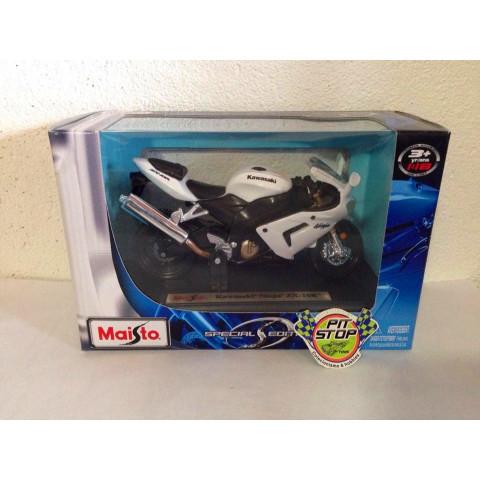 Maisto - Kawasaki Ninja ZX-10R Branca - Special Edition