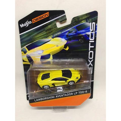 Maisto - Lamborghini Aventador LP 700-4 Amarelo - Exotics