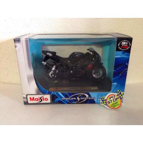 Maisto - Yamaha YZF-R1 Preta - Special Edition