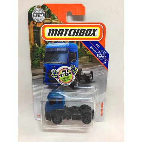 Matchbox - 13 Ford Cargo Azul - MBX Service - Básico