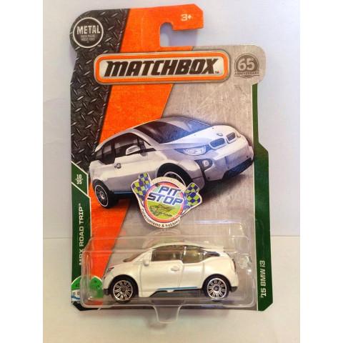 Matchbox - 15 BMW i3 Branco - Básico 2018