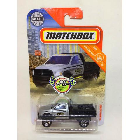 Matchbox - 16 Ram Flatbed Cinza - MBX Construction - Básico 2019