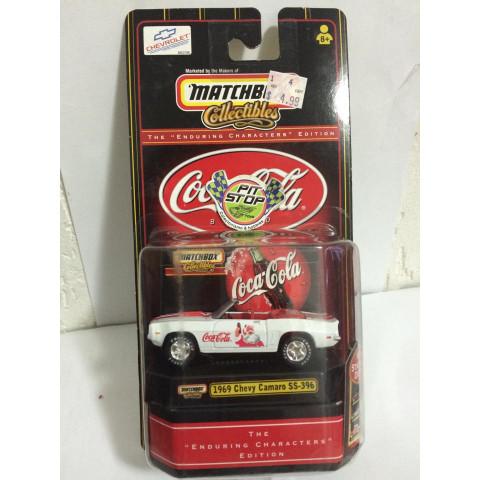 Matchbox - 1969 Chevy Camaro SS-396 - Coca Cola