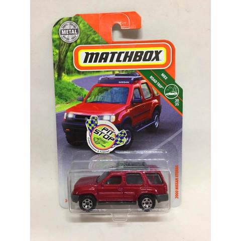 Matchbox - 2000 Nissan XTerra Vermelho - MBX Road Trip - Básico 2018