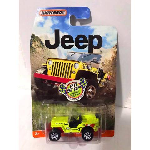 Matchbox - 43 Jeep Willys Amarelo - Jeep