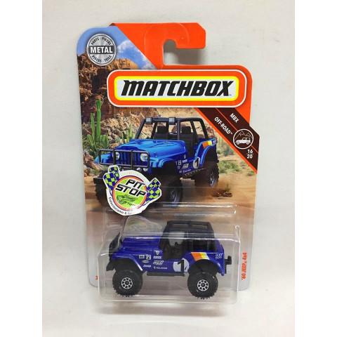 Matchbox - 60 Jeep 4x4 Azul - MBX Off-Road - Básico 2018