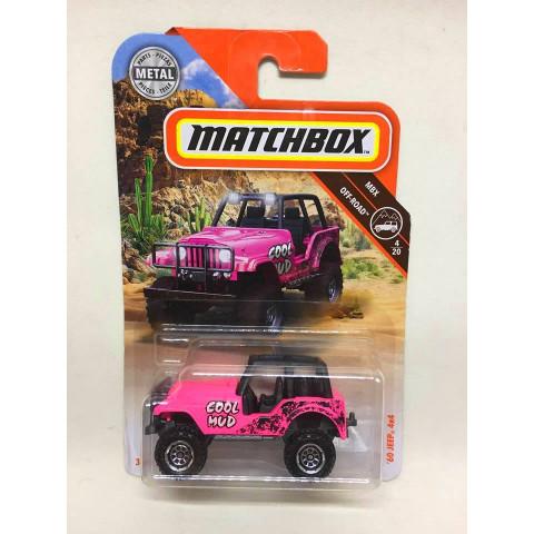 Matchbox - 60 Jeep 4x4 Rosa - MBX Off Road - 2019