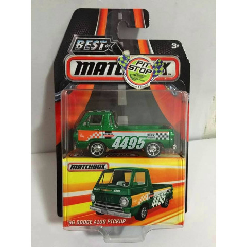 Matchbox - 66 Dodge A100 Pickup Verde - Best of Matchbox 2016