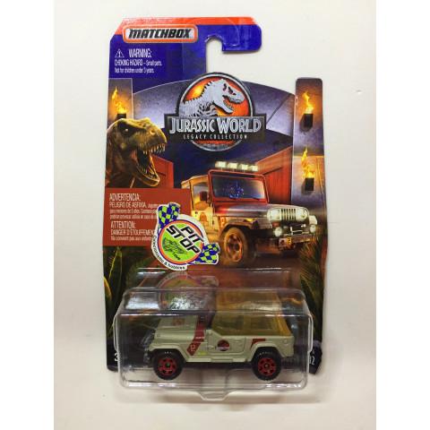 Matchbox - 93 Jeep Wrangler #12 - Jurassic World