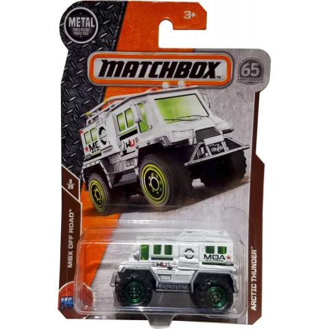 Matchbox - Arctic Thunder Branco - Matchbox 2018