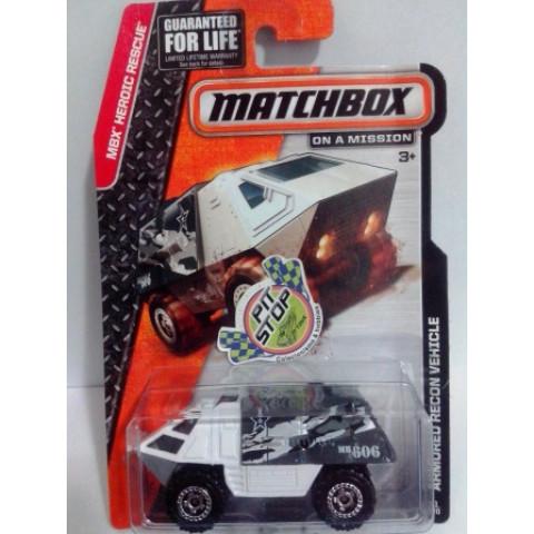 Matchbox - Armored Recon Vehicle Branco - Básico