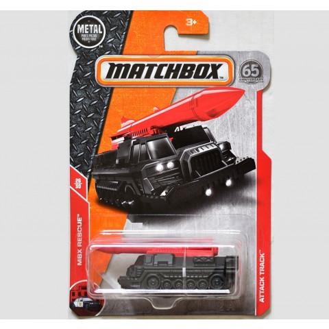 Matchbox - Attack Track Preto - Matchbox 2018