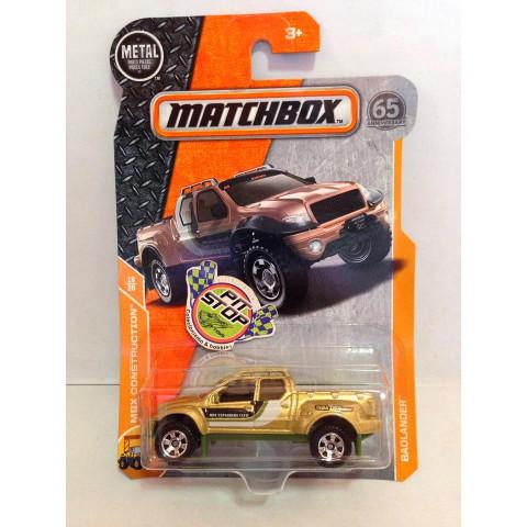 Matchbox - Badlander Dourado - Básico 2018