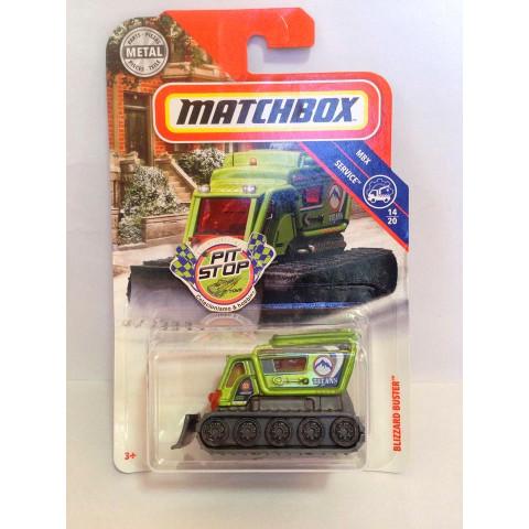 Matchbox - Blizzard Buster Verde - MBX Service - Básico 2018