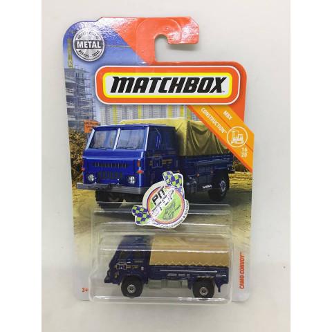 Matchbox - Camo Convoy Azul - MBX Construction - Básico 2018