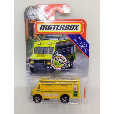 Matchbox - Chow Mobile Amarelo - MBX Service - Básico 2018