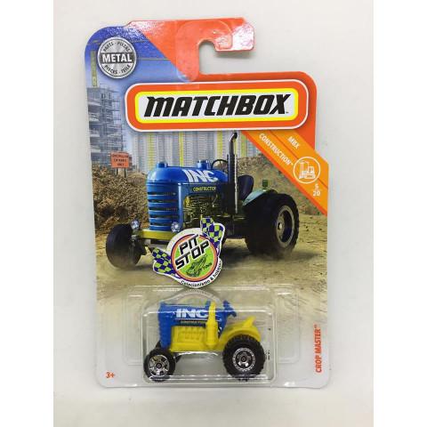 Matchbox - Crop Master Azul - MBX Construction - Básico 2018