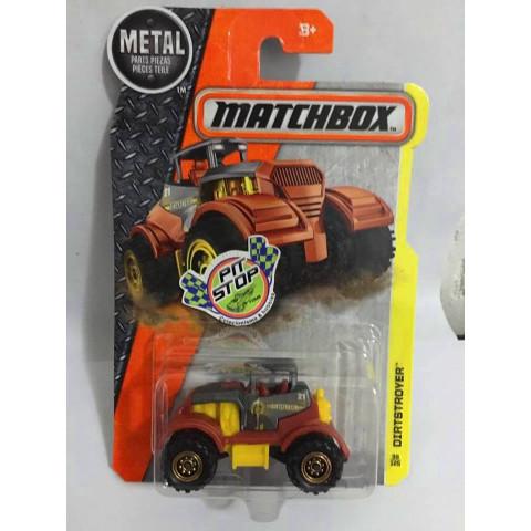 Matchbox - Dirtstroyer Cinza - Básico 2016