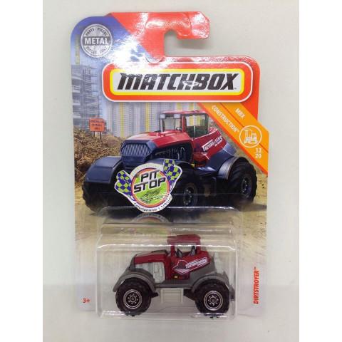 Matchbox - Dirtstroyer Vermelho - MBX Construction - Básico 2018