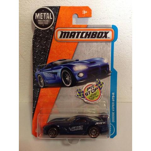 Matchbox - Dodge Viper GTS-R Azul - Básico 2017