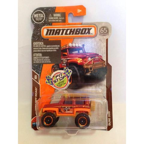 Matchbox - Dune Dog Vermelho - Básico 2018