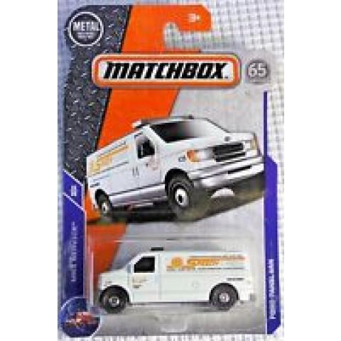 Matchbox - Ford Panel Van Branco - Matchbox 2018