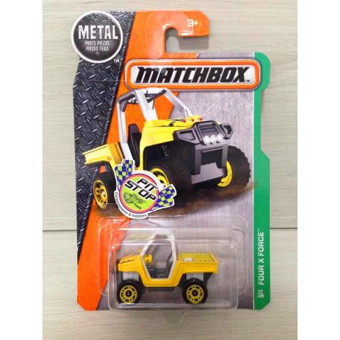 Matchbox - Four x Force Amarelo - Básico 2017