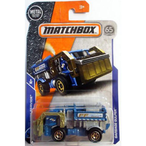 Matchbox - Garbage Gulper Azul - Matchbox 2018
