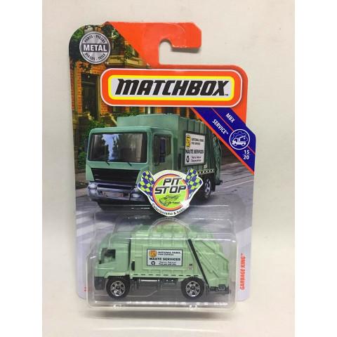 Matchbox - Garbage King Verde - MBX Service - Básico 2019
