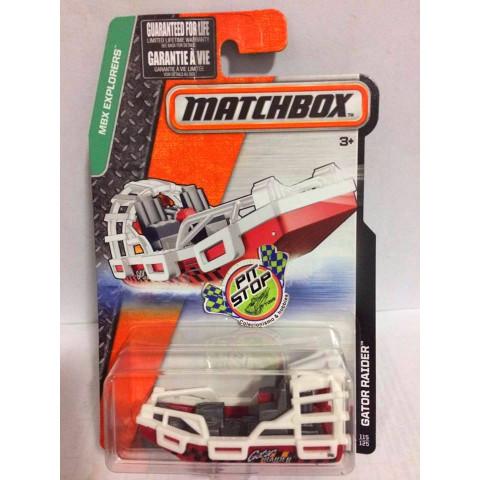 Matchbox - Gator Raider Vermelho - Básico 2016