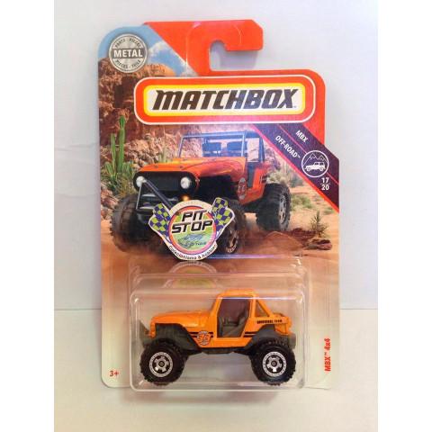 Matchbox - MBX 4x4 Laranja - MBX Off-Road - Básico 2018