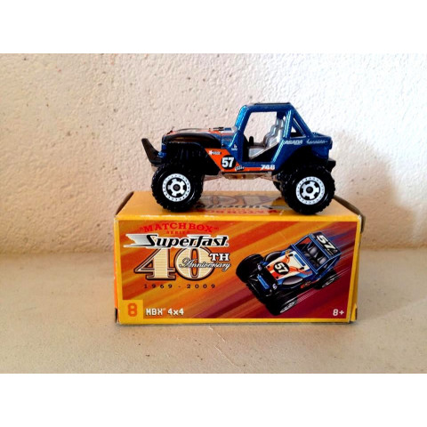 Matchbox - MBX 4x4 - Superfast - 40th Anniversary