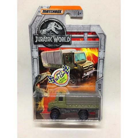Matchbox - Mercedes-Benz Unimog U 5020 Camuflado - Jurassic World